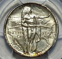 1936 OREGON 50C COMMEMORATIVE SILVER HALF DOLLAR PCGS MINT STATE 65