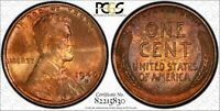 1940-D 1C LINCOLN CENT PCGS MINT STATE 65RB 82215830, TONED W/ TRUEVIEW 24M
