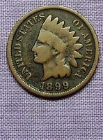 1899  INDIAN HEAD CENT   90526206