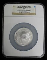 2012 GREAT BRITAIN S10PND LONDON 2012 OLYMPICS PEGASUS ONE OF FIRST 1K NGC PF70