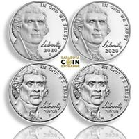2020 S W P D JEFFERSON NICKELS COMES WITH W SEALED AND COA.