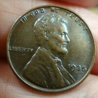 1935 LINCOLN CENT MS BEAUTIFUL COLOR