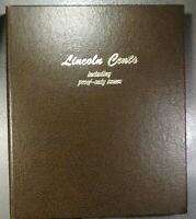 LINCOLN CENT COLLECTION IN DANSCO ALBUM   174 COINS   1917 1