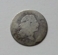 1795 FLOWING HAIR HALF DIME - STRONG DATE -