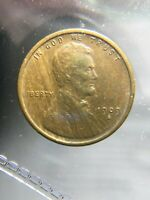 1909-S VDB LINCOLN CENT.  EXTRA FINE CONDITION.  SOLID RIM.  NO DINGS/SCRATCHES.