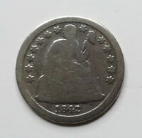 1842 SEATED LIBERTY DIME - EARLY DATE