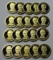 2010-S ABRAHAM LINCOLN PROOF PRESIDENTIAL DOLLARS - ROLL OF 20 DEEP CAMEO COINS