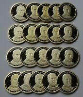 2013-S WILLIAM MCKINLEY PROOF PRESIDENTIAL DOLLARS - ROLL 20 DEEP CAMEO COINS