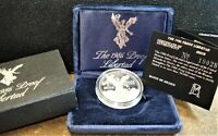 1986 SILVER 1 ONZA  1 OUNCE  PROOF LIBERTAD COIN FROM MEXICO