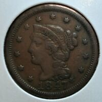 1847 US LARGE CENT