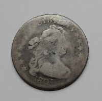 1807 DRAPED BUST DIME -  EARLY DATE