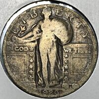 1926 STANDING LIBERTY QUARTER GRADING IN   CONDITION