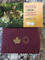 SPECIAL EDITION TWO DOLLAR COIN SPECIMEN SET 2014 YOUNG WILD