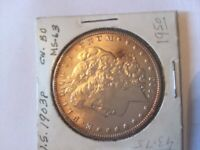 1903 - P MORGAN DOLLAR  LUSTRE, BU, FROM OLD COLLECTION