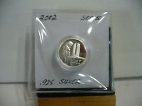 2002 VIMY RIDGE 5 CENT    STERLING SILVER COIN  .925 SILVER  SEALED COIN