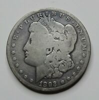 1893-P MORGAN SILVER DOLLAR - BETTER KEY DATE - LOW MINTAGE