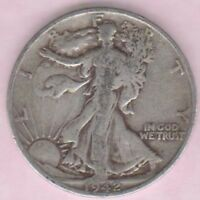 1942S WALKING LIBERTY 90 SILVER HALF DOLLAR   GOOD CONDITION