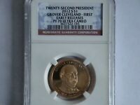 2012 S PROOF GROVER CLEVELAND PRESIDENTIAL DOLLAR GRADED PF