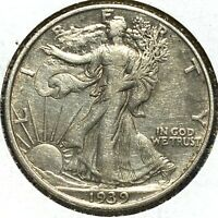 1939 50C WALKING LIBERTY HALF DOLLAR 56199