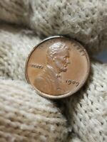 1909 V.D.B. - 1912 CONSECUTIVE WHEAT CENTS EXTRA FINE /AU GRADE -- DIE CRACK VARIETY