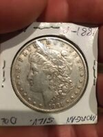 1881 P MORGAN SILVER DOLLAR      COIN