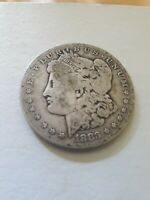 1883-P SILVER MORGAN DOLLAR $1 US COIN  OVER 136 YEARS OLD. SHIPS FREE