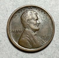 1909-S LINCOLN CENT 1C PENNY