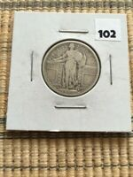 1917S STANDING LIBERTY QUARTER TYPE 1
