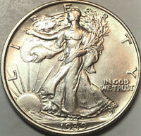 1939-P WALKING LIBERTY HALF DOLLAR - GEM BU