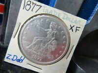 UNITED STATES 1877 TRADE DOLLAR XF CONDITION GREAT EYE APPEA