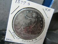 UNITED STATES 1877   S TRADE DOLLAR VF  CONDITION GREAT EYE