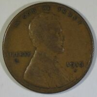 1913-S LINCOLN WHEAT CENT VG