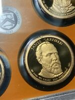 2011-S PROOF PRESIDENTIAL SET WITH ERROR AND COA IN OGP