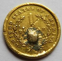 GOLD $1 LIBERTY HEAD VINTAGE DOLLAR COIN   041533Z