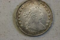 1798 DRAPED BUST SILVER DOLLAR $1    XF DETAILS    RARE COIN