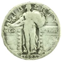 1926 S STANDING LIBERTY QUARTER 90 SILVER