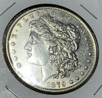 1879-O 90 SILVER MORGAN DOLLAR $1  AU CONDITION