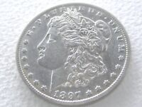 1897-O MORGAN SILVER DOLLAR, STRONG DETAILS R DATE 9-3-M