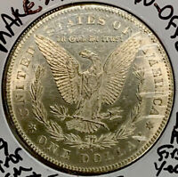MAKE-A- $115 OFFER 1899-0 UNC MORGAN SILVER DOLLAR MSGEM MINT LUSTER BLAZERS