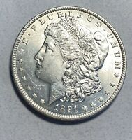 1891 MORGAN SILVER $1 DOLLAR