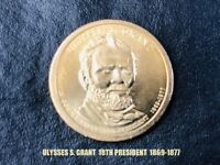 2011 ULYSSES S. GRANT 18TH US PRESIDENT 1869-1877 $1 COIN