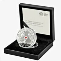 150TH ANNIVERSARY OF THE BRITISH RED CROSS 2020 UK 5 SILVER