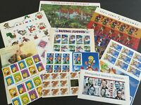 TRIGGIBBY LOT OF  10  DIFFERENT COMPLETE STAMP PANELS FV $48