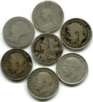 SCRAP STERLING SILVER COINS 5