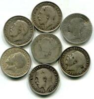 SCRAP STERLING SILVER COINS 7