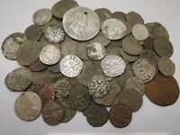 HUGE LOT 116 MEDIEVAL COINS  XII XVII  CENTURY HUNGARY AUSTR