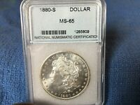 1880 S MORGAN SILVER DOLLAR