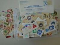1000S  2LBS  POSTAL CARDS & STATIONERY CUT SQUARES  EARLY TO