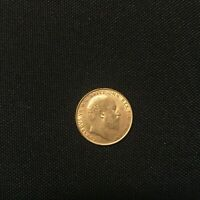 1906 BRITISH GOLD FULL SOVEREIGN GREAT BRITAIN   0.2354 OZ.