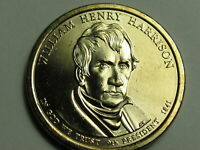 2009 D WILLIAM HENRY HARRISON DOLLAR COIN    AU    SHIPS FREE